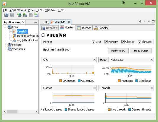 Monitoring an Apache TomEE Service on Windows with VisualVM - Tomitribe